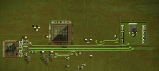 Pyramid Circuit Board